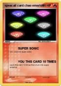 speacail card