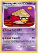 Moon Angry Bird