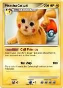Pikachu Cat