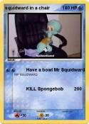 squidward in a