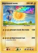depressed sonic