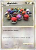 all pokeballs