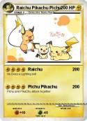 Raichu Pikachu
