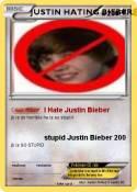 JUSTIN HATING