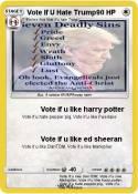Vote If U Hate