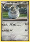 fluffy squirrel