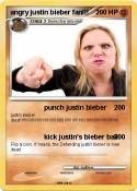 angry justin