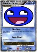 Blue Epic Face