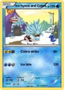 Ice hyena and