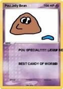 Pou Jelly Bean