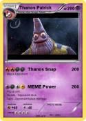 Thanos Patrick