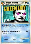 GREEN DAY TRE
