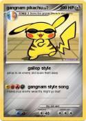 gangnam pikachu