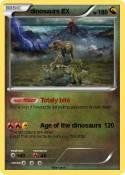 dinosaurs EX