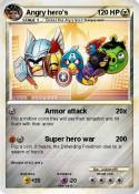 Angry hero's