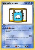 blue puffle in