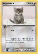 kitty cat lvl x