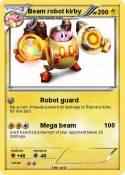 Beam robot