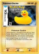 Pokemon Duckie