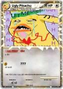 Ugly Pikachu