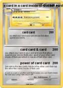 a card in a