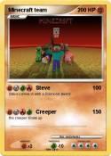 Minecraft team
