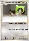 good cat evil