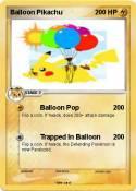 Balloon Pikachu
