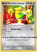 Shrek the anime