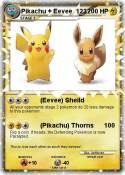 Pikachu + Eevee