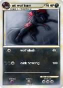 oki wolf form