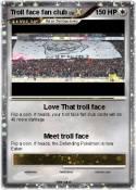 Troll face fan