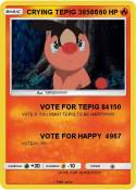CRYING TEPIG