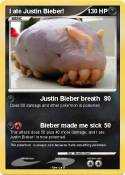 I ate Justin