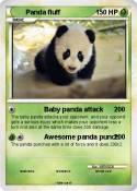 Panda fluff