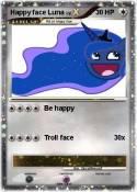 Happy face Luna