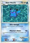 Water Pikachu