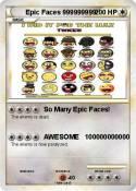 Epic Faces
