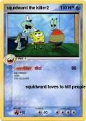 squidward the