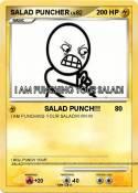 SALAD PUNCHER
