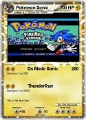 Pokemon Sonic