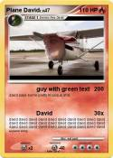 Plane David