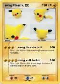 swag Pikachu EX