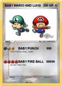 BABY MARIO AND