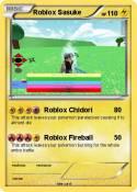 Roblox Sasuke