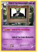 Vote if Yar