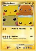 Pikachu Team