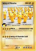 army of Pikachu
