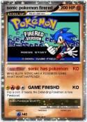 sonic pokemon