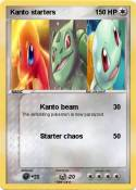 Kanto starters